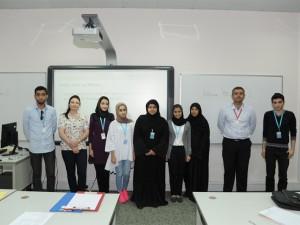 بوليتكنك البحرين تدرب طلابها المتفوقين على برنامج PASS للسنة الدراسية 2014-2015