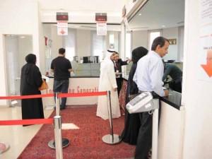 علي بن عبدالرحمن آل خليفة يلتقي بالمراجعين لتثبيت القبول في البوليتكنك