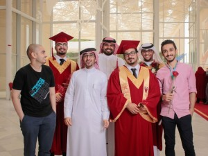 Student Council Participate in Organization of Second Graduation Ceremony