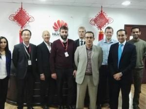 ممثلو (بوليتكنك البحرين) يقمون بزيارة ميدانية للمقر الإقليمي لشركة هواوي
