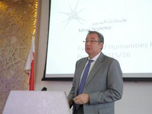 Dean of Humanities Selected as External Reviewer in Oman
