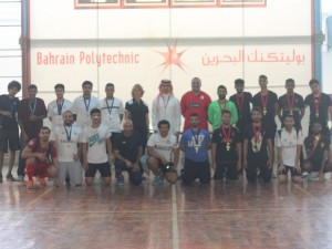 Bahrain Polytechnic Hosts Football Tournament
