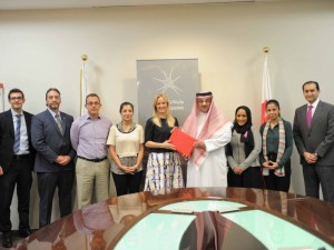 Bahrain Polytechnic and Think Pink Bahrain Sign MoU