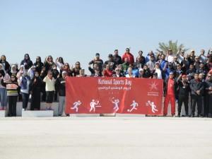 البوليتكنك تشارك مملكة البحرين احتفالها بيومها الرياضي الأول