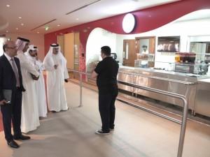 """""""شاي كافيه"""" يفتتح رسميًّا في بوليتكنك البحرين"""