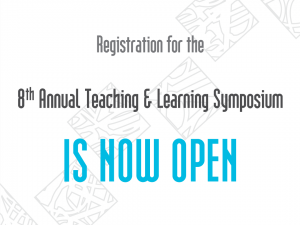 8th Annual Teaching & Learning Symposium
