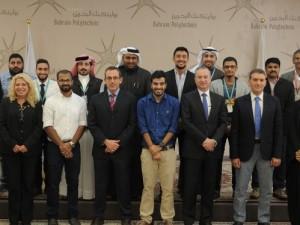 قسم الهندسة ببوليتكنك البحرين ينظم يوماً لعرض وتقييم خطط عمل الطلبة الخاصة بمشاريع التخرج