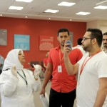 Bahrain Polytechnic participates in the Ministry of Health's Heart Protection Campaign