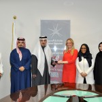 Bahrain Polytechnic receives the Community Engagement Award from Think Pink Bahrain