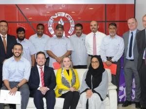 Bahrain Polytechnic Awards BANAGAS Trainees