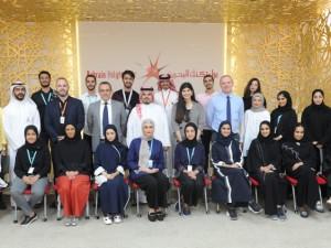 البوليتكنك تكرم الطلبة المشاركين في معرض البحرين الدولي للطيران 2018