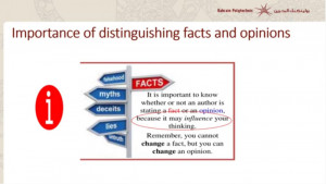 Distinguishing-between-factsXopinions