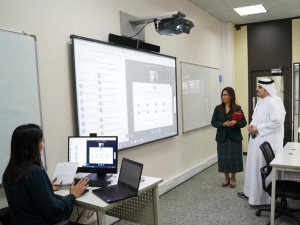 """الأولى على مستوى مملكة البحرين: البوليتكنك تعزز التعليم الافتراضي والمدمج بعضويتها في """"كواليتي ماترز"""" العالمية"""