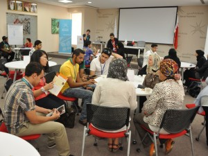 Students Attend Voluntary Awareness Day in Bahrain Polytechnic