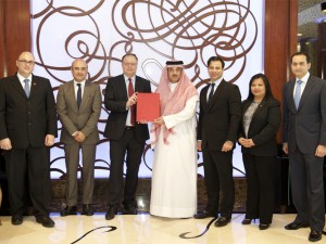 Bahrain Polytechnic Signs with Diplomat Hotel