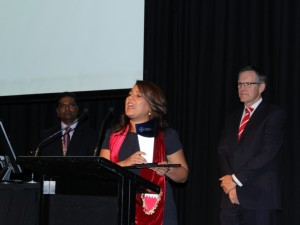 Student Collects Logistics Award in New Zealand