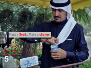 "Like the Video ""Plant a Seed…Make a Change"""