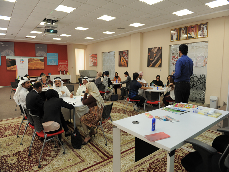 Six Thinking Hats Workshop Delivered At The Polytechnic Bahrain Polytechnic