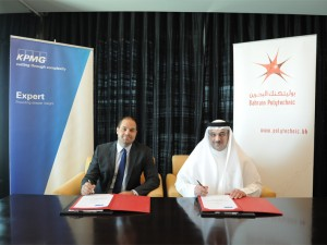 Bahrain Polytechnic Signs with KPMG