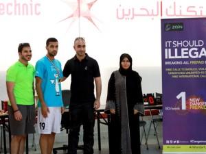Bahrain Polytechnic Hosts Zain Polytechnic Universities Football Tournament