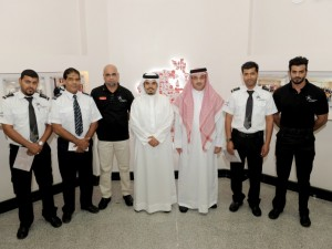 Security Staff Awarded for Preventing Fire Incident