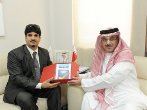 Meeting with Dr. Jassim Al Maharri