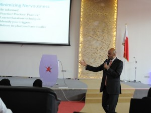 "Mohammed Isa Delivers Lecture on ""Networking"""