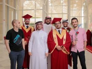 Student Council Participate in Organization of Second Graduation Ceremony
