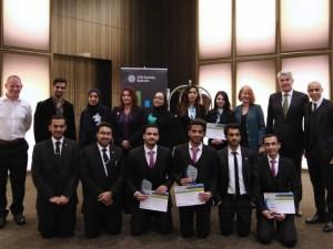 بوليتكنك البحرين تحرز المركزين الأول والثاني وتتأهل للمنافسة الدولية في شيكاغو