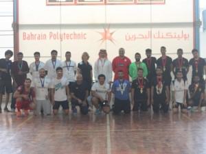 Bahrain Polytechnic Hosts Football Tournament