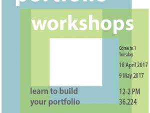 Workshop: Build your portfolio (Visual Design Applicants)