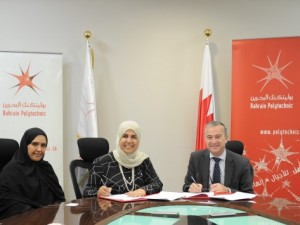 Bahrain Polytechnic Sign MOU with Bahrain Trust Foundation