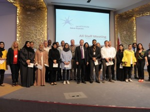 CEO Town Hall Hosted for Bahrain Polytechnic Staff