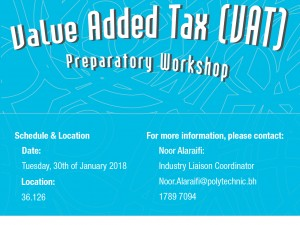 VAT Preparatory Workshop