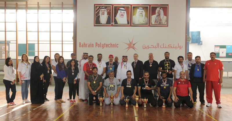 بوليتكنك البحرين تحتفل باليوم الرياضي الوطني الثاني