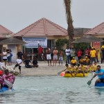 Bahrain Polytechnic Participates in the Charity Raft Race