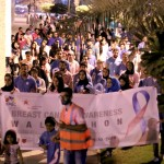 Bahrain Polytechnic represented by its student council organize a Breast Cancer Walkathon (002)