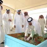 Bahrain Polytechnic supports the Southern Area Municipalities effort to beautifying spaces