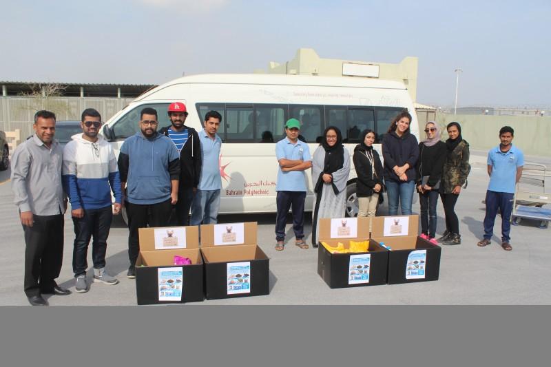 بوليتكنك البحرين تنظم حملة تبرعات للكلاب والقطط