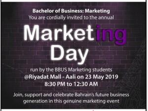 Bahrain Polytechnic Organizes Annual Marketing Day at Riyadat Mall