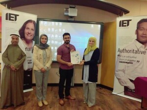 Polytechnic Student Qualifies for IET Present Around the World Competition Global Final